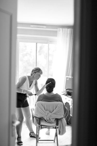 Coiffure mariage à domicile